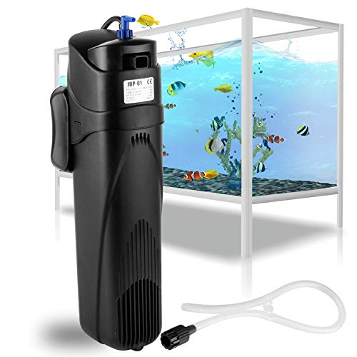 Forever Speed - Bomba de Filtro UVC JUP, esterilizador UV, Filtro de Bomba Ajustable 8 W/9 W para Tanque de Acuario de 285L