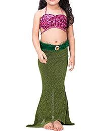 27124ae19 Amazon.es: Vestido Verde Fiesta - Ropa de baño / Niña: Ropa
