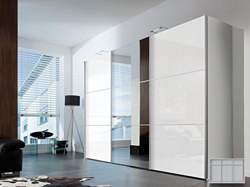 Schwebetürenschrank Kleiderschrank Schrank Schlafzimmerschrank 'Aurora VI' (Breite: 300 cm)