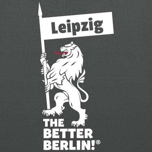Spreadshirt Leipzig Stoffbeutel Graphite