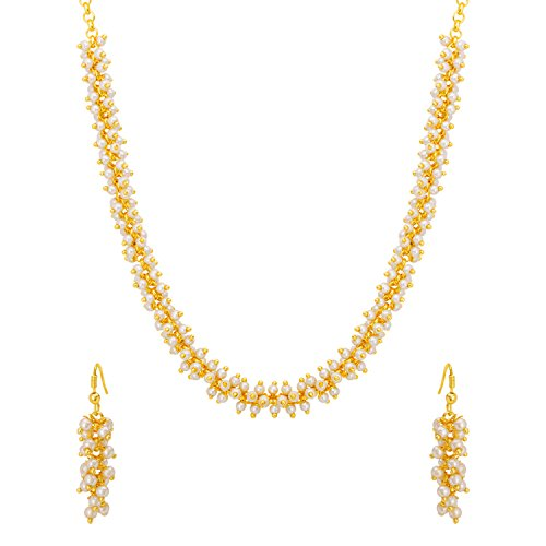 Voylla Gold Plated Jewellery Set for Women (8907617399850)