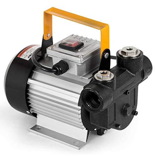 HODOY Pompa Aspira Olio Pompa Diesel 550W 60-70L / Min Olio di Trasferimento Pompa del Carburante Autoadescante 220V (60-70L / Min)