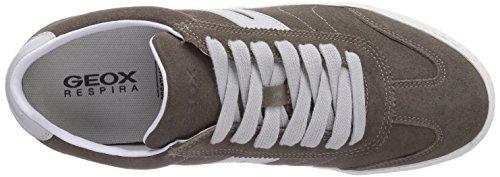 Geox U SMART E, Low-Top Sneaker uomo Beige (Beige (TAUPEC6029))