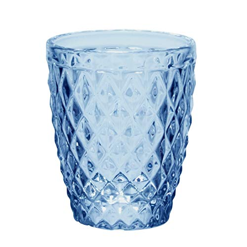 Table Passion - Gobelet diamant bleu 27.5 cl (lot de 6)