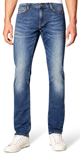 Mustang Herren Fit Jeans Oregon Tapered Stone Washed