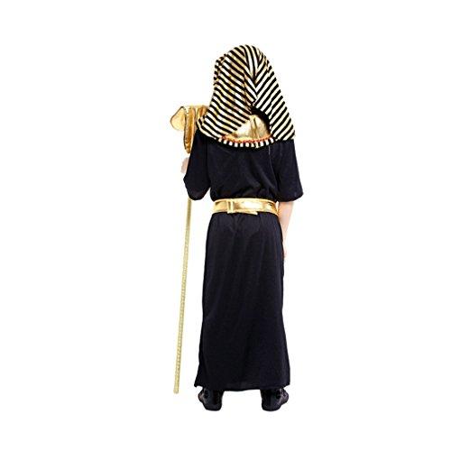 Imagen de jt amigo disfraz de faraón egipcio para niño, 4 5 años alternativa