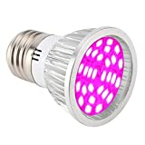 6W LED Grow Light para plantas de interior Lámpara de cultivo 28pcs LED Full Spectrum Luces de planta Panel de bombilla para hidroponía Invernadero Invernadero Veg y Flor