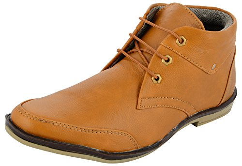 DECENT Men's Tan Chukka Boots - 10 UK  available at amazon for Rs.279
