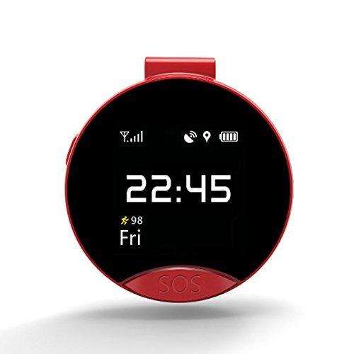 Sannii S9 GPS Smart Watch mit SIM Slot Unterstützung Wifi, SOS Notruf, Voice Chat App für Android & IOS Telefone
