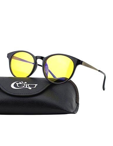 CGID CT28 Gafas Premium con Armazón TR90 para Protección contra Luz Azul