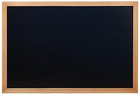 Tableau Ardoise De Cuisine - Securit Woody Tableau mural noir Cadre en