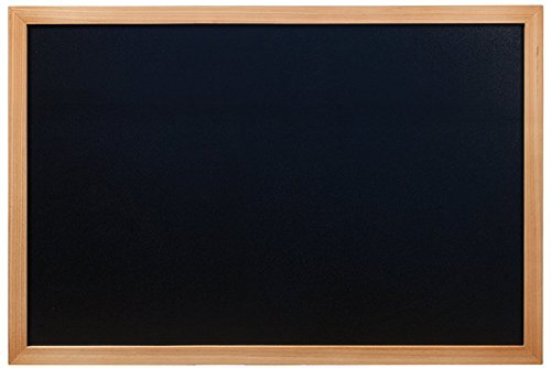securit-woody-tableau-mural-noir-cadre-en-teck-60-x-80-cm