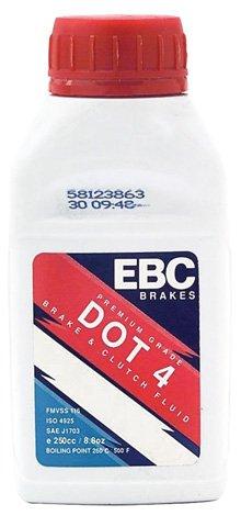 Preisvergleich Produktbild EBC Bremsflüssigkeit 0.25l Dot4 BF004 5050953600906 Motorrad