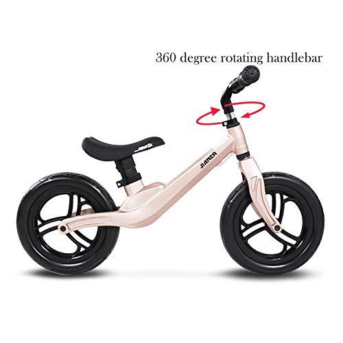 WYX Kinderbike Zwei Räder Outdoor Balance Bike für Kinder kein Pedal-Wanderrad für 2 bis 6 Jahre alt