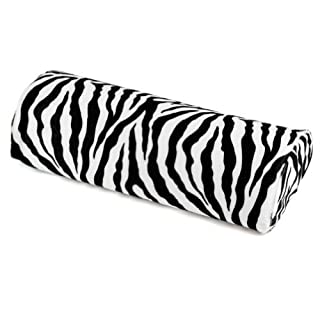 Zebra Stripe White&Black Cushion Pillow Nail Art Manicure Half Column Hand Rest