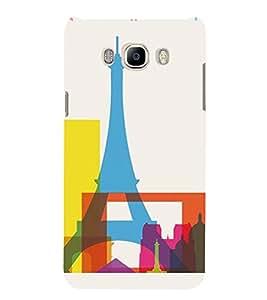 PrintVisa Paris Modern Art Design 3D Hard Polycarbonate Designer Back Case Cover for Samsung Galaxy On8