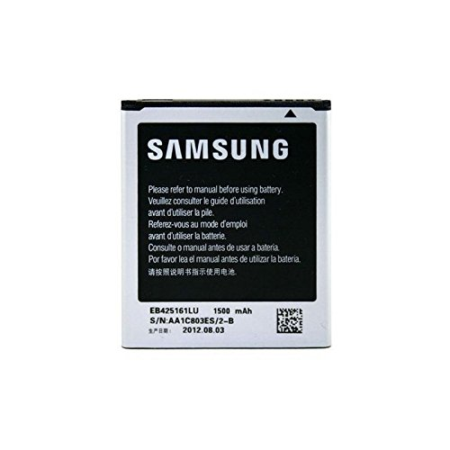 Samsung Batterie 1500 mAh pour smartphone Galaxy Trend S7560/S3 mini i8190/S Duos S7562/Ace 2 i8160