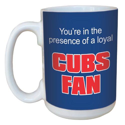 Tree-Free Greetings lm44081 Cubs Baseball Fan Keramik Tasse mit Henkel, 425 ml