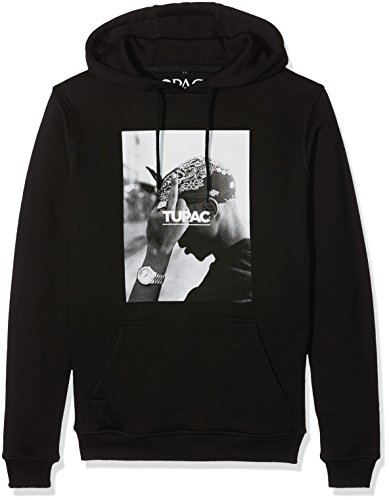 Mister Tee 2Pac F The World Hoodie, Farbe Black, Size L