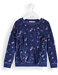 RED WAGON Girl's Velvet Sweatshirt