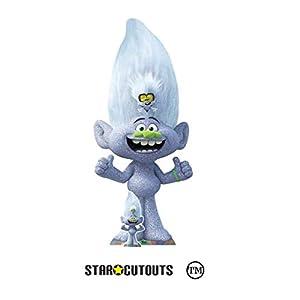 Star Cutouts Ltd- Star Cutouts SC1524-Figura Decorativa Diamante pequeño (172 x 76 cm), Multicolor (SC1524)