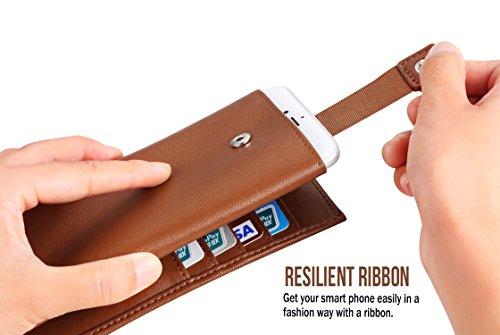 INSEL , Porta carte di credito  Unisex adulti Brown