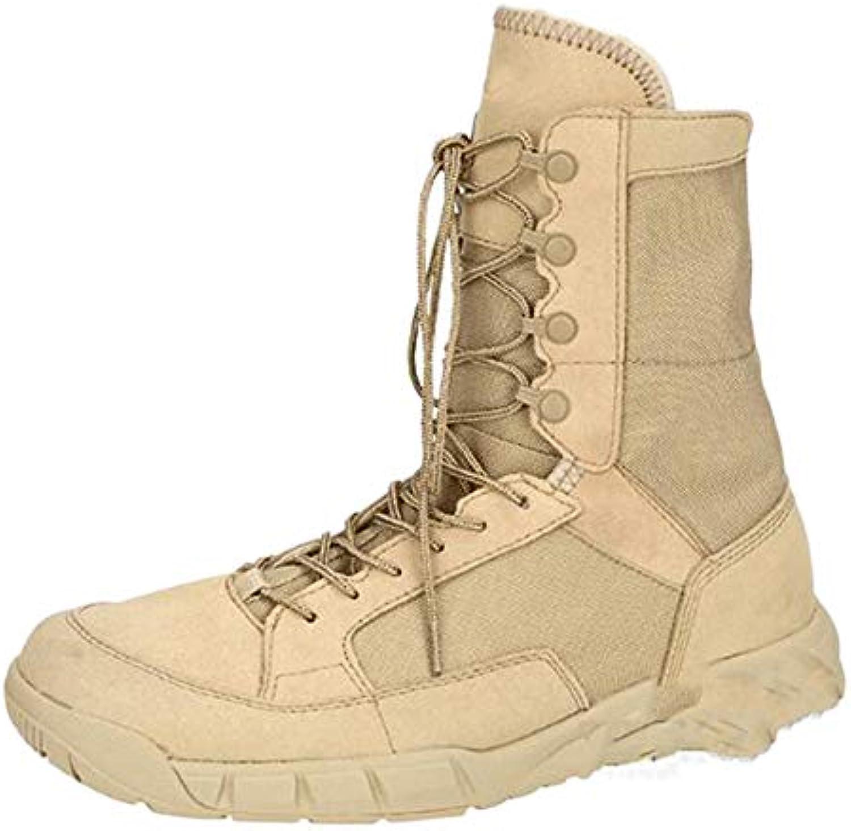 Leggero Le Forze Speciali Stivali Tattici Traspiranti Stivali da Combattimento Esercito Deserto Scarpe da Trekking...   Design moderno    Uomo/Donna Scarpa