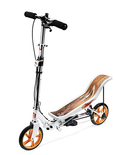 Preisvergleich Produktbild East Side Records 86007 - Space Scooter X580, Outdoor und Sport, weiß/orange