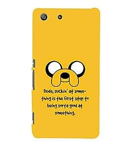 99Sublimation Cartoon Eyes 3D Hard Polycarbonate Back Case Cover for Sony Xperia M5 Dual :: E5633 :: E5643 :: E5663