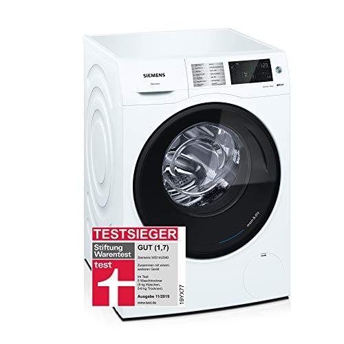 Siemens iQ500 WD14U540 Waschtrockner / 9,00 kg / 6,00 kg / A / 198 kWh / 1.400 U/min / Schnellwaschprogramm / Hygiene Programm / Outdoor/Imprägnieren /