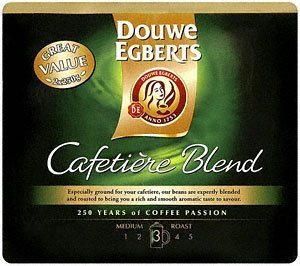 Douwe Egberts 1Kg Roast and Ground Cafetiere Coffee by Douwe Egberts Coffee Systems