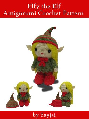 Elf amigurumi pattern Christmas crochet pattern elf crochet | Etsy | 500x375