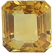 100% Natural Yellow Sapphire (Pukhraj/Guru) Certified Astrological Gemstone (5.59 CTS)