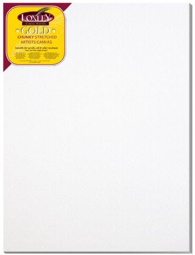 Loxley Gold LCC-4030 - Lienzo preestirado, Color Blanco