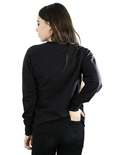 Disney Femme Nightmare Before Christmas Misfit Love Sweat-Shirt Noir