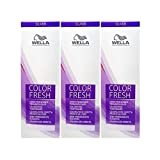3 er Pack Wella Color Fresh Silver Tönungsliquid 0/8 PERL 75 ml