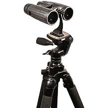 Bushnell 161002CM - Adaptador para trípode prismático, negro