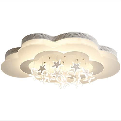 Towero Master schlafzimmer lampe einfache persönlichkeit kreative moderne wolkenlampe junge mädchen augenschutz kinderzimmer deckenleuchte -