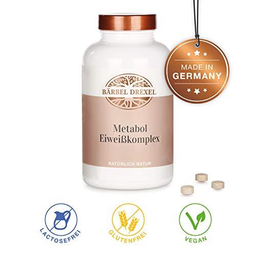 Komplex Pflanzlichen Kapseln (BÄRBEL DREXEL Metabol Eiweiß-komplex (344 Stk) 100% Vegane Herstellung Deutschland Muskelaufbau)