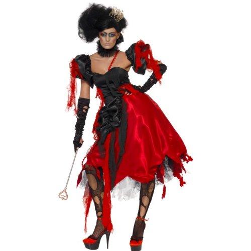 men Kostüm böse Herzkönigin aus Alice Märchen Größe M (Böse Alice Kostüme)