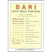 Bari Provincial Road Map (1:150, 000)