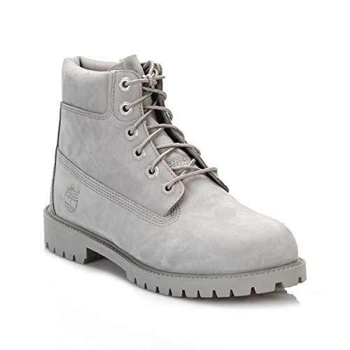 "Timberland 6"" Classic Garcon Boots Gris Grey"
