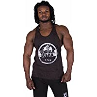 Gorilla Wear Mill Valley Tank Top Culturismo y Fitness Ropa para hombre (XL, negro)