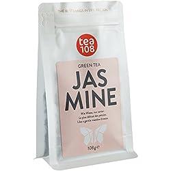 Jasmintee - Grüntee durch Jasminblüten aromatisiert - Jasmin Tee lose für 108 Tassen