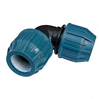PE Rohr Verschraubung Winkel 90° 20 mm Trinkwasser DVGW