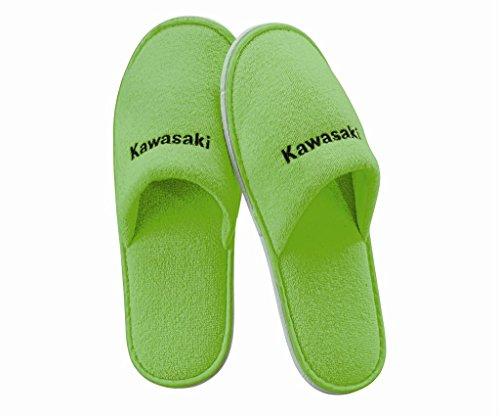 Preisvergleich Produktbild KAWASAKI Slipper, Hausschuhe mit Kawasaki Logo Größe 39/40 - 237SPM0072 - Motorrad-Jankwitz
