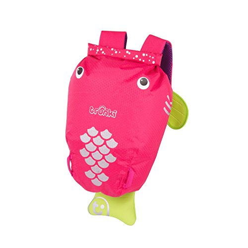 Trunki - Mochila Pez Rosa Paddle Pack