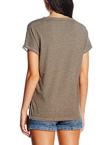 ONLY Damen T-Shirt Onlalice S/S Mix Top Jrs Mehrfarbig (Tarmac AOP:MELANGE)