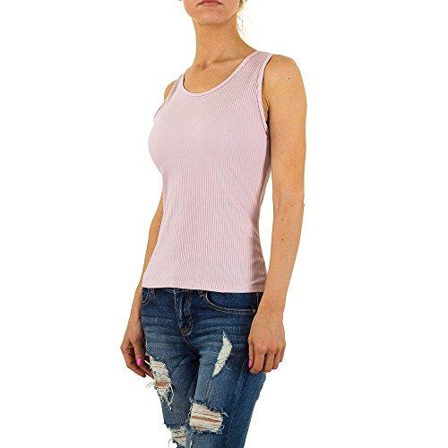 Stretch Top Für Damen bei Ital-Design Rosa