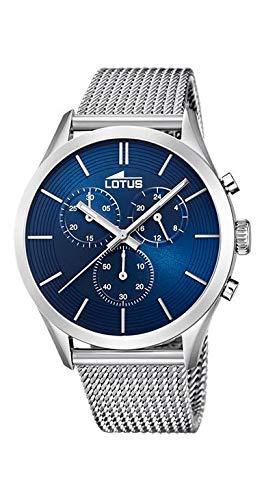 LOTUS Minimalist 18117/4 Reloj Hombre Cuarzo Acero